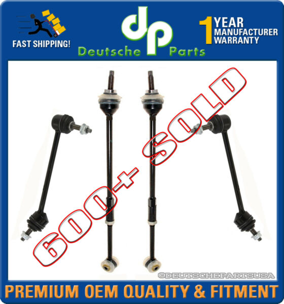 LINCOLN LS REAR SWAY BAR LINK LINKS TORQUE TIE ROD RODS SET LEFT + RIGHT 4 pcs