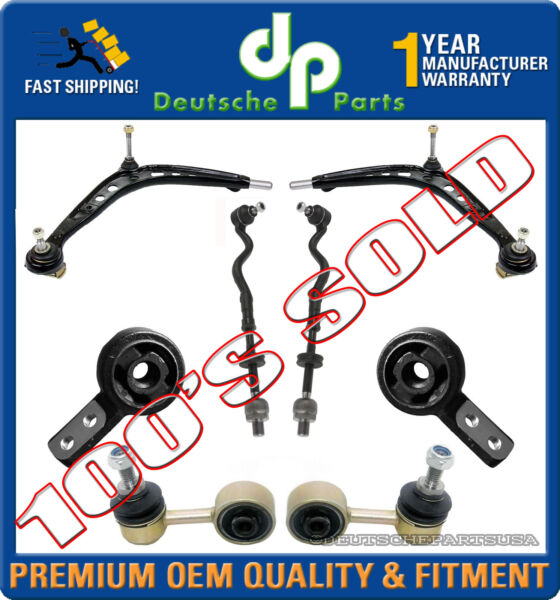 CONTROL ARM BALL JOINT TIE ROD BUSHING BUSHING BRACKET SWAY BAR LINK for BMW E36