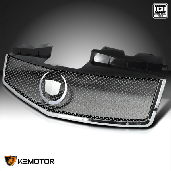 2003-2007 Cadillac CTS Metal Mesh Chrome Grill Grille