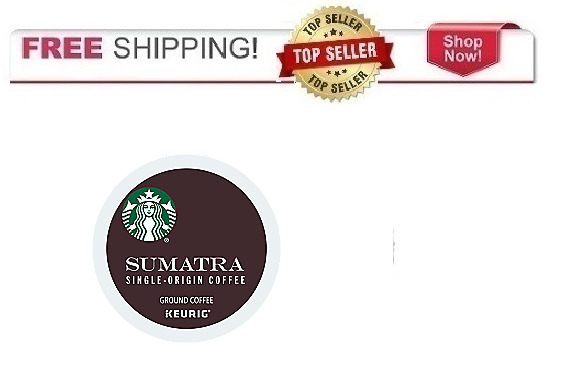 Starbucks Sumatra Keurig K-cups Coffee PICK THE SIZE