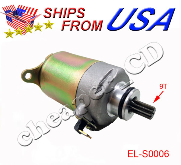 Starter Motor for GY6 150cc Scooter $19.98