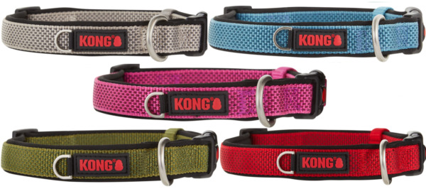 KONG Dog Collars Padded S M L XL BRAND NEW Assorted Colors $34.99