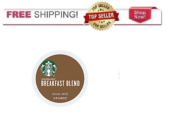 Starbucks Breakfast Blend Keurig K-cups Coffee PICK THE SIZE