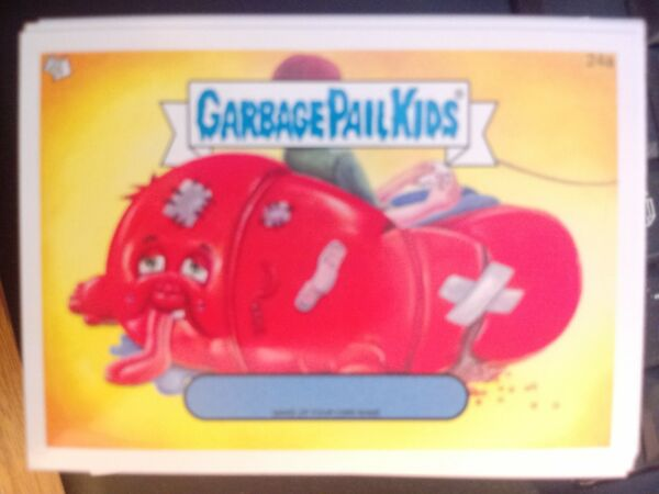 Garbage Pail Kids 2014 Series 1 #24a Make Up Your Own Name Mint