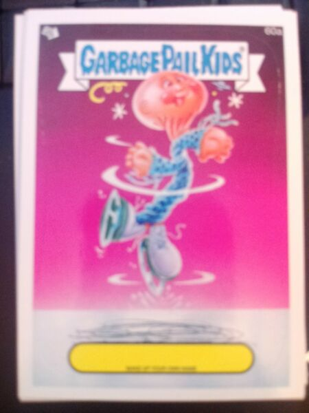 Garbage Pail Kids 2014 Series 1 #60a Make Up Your Own Name Mint