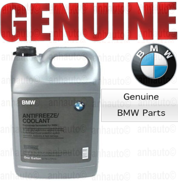 Genuine BMW Blue Color Antifreeze / Coolant  82141467704  (100% Strength)