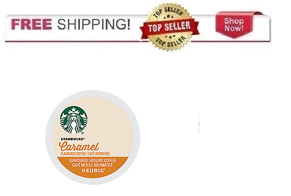 FRESH Starbucks Caramel Keurig K-cups Coffee PICK THE SIZE Ships FREE