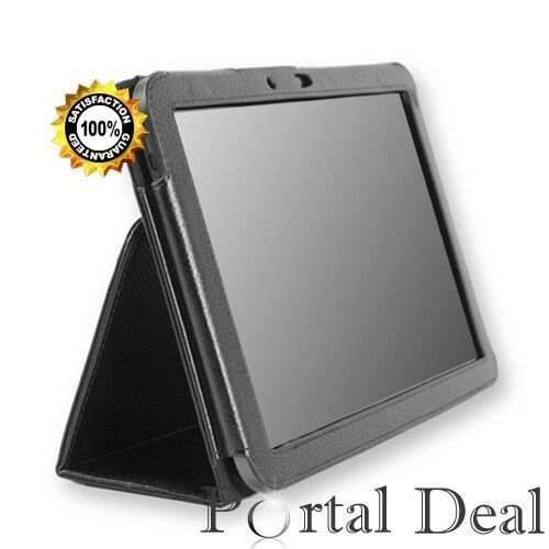 9.7'' Luxury PU Leather Flip Stand Case Cover For Apple iPad 5 5th Air Black