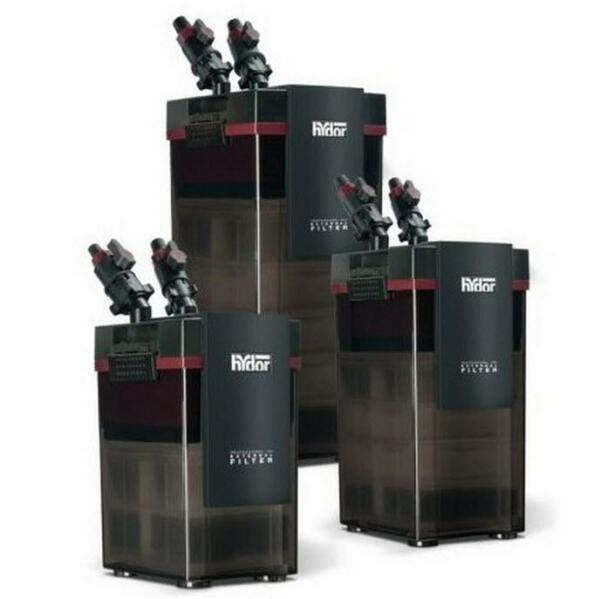 HYDOR PROFESSIONAL CANISTER FILTER 250 (40-75 GAL) FRESHSALTWATER AQUARIUMS