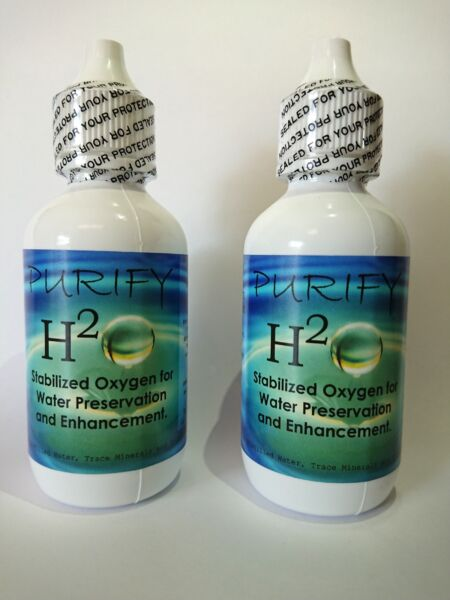 PURIFY H2O 2 Pack Stabilized oxygen for Water Purification and Preservation $32.29