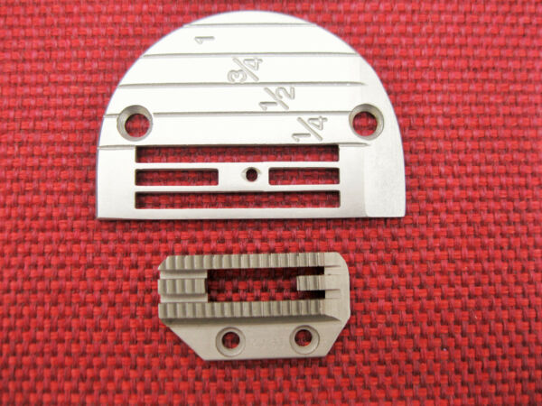 143169 SINGLE NEEDLE PLATE 149165 FEED DOG FOR HEAVY MATERIAL $5.50