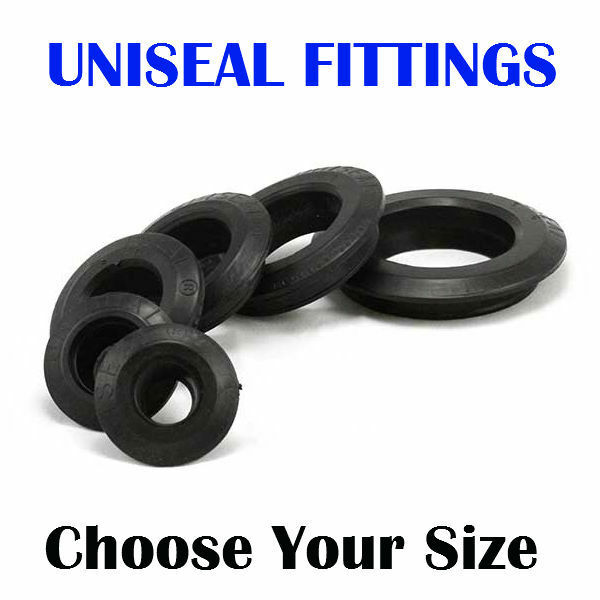 UNISEAL BULKHEADS HYDROPONIC AQUAPONIC AQUARIUM AQUACULTURE PIPE FITTINGS