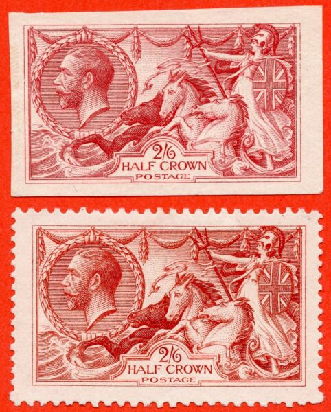 SG. 399. N63 variety. 26 CARMINE PLATE PROOF & COLOUR TRIAL. A super matching p