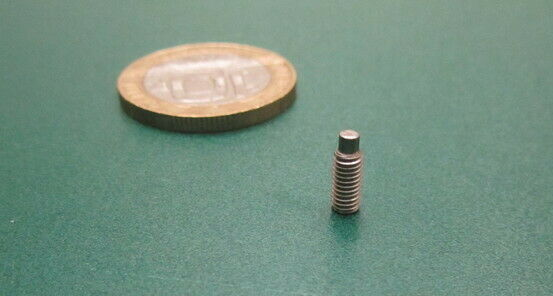 Stainless Dog Point Set Screws Extended Tip M3 x 0.5 x 8mm Length 25 Pcs $26.69