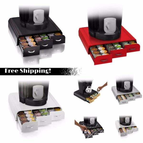 Coffee Pod Holder Storage 36 Keurig K-cup Organizer Mind Reader Anchor Rack