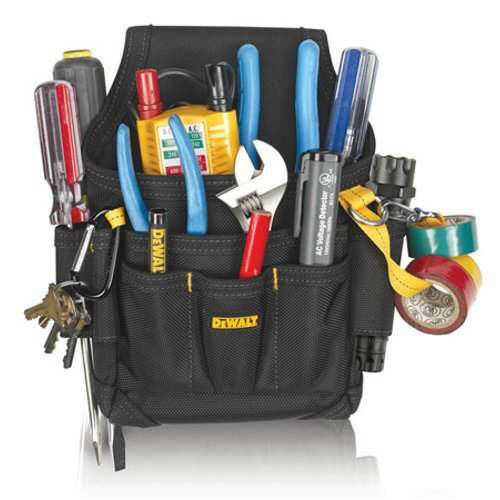 DeWalt DG5103 - Small Maintenance Electrician Handy Man Tool Belt Pouch Holster