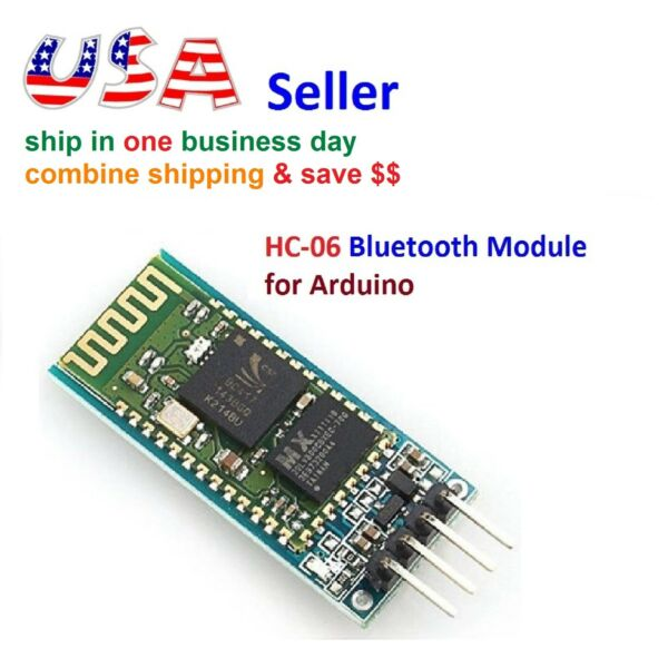 Wireless RF Transceiver Bluetooth HC-06 Slave Module RS232TTL for Arduino