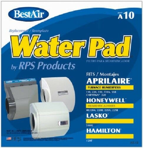 BestAir A10 Furnace Humidifier Water Pad Case of 4