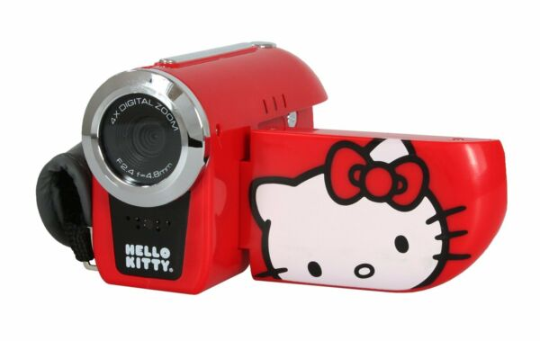 Hello Kitty Videocamera Digitale 4x Zoom 720p HD Videoregistratore 31009