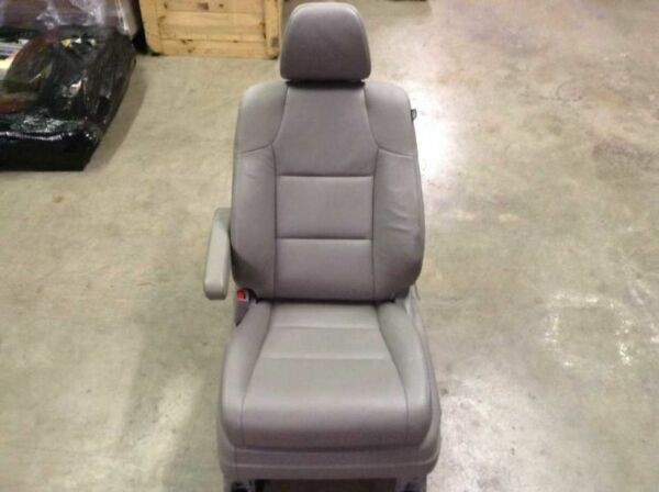 11 12 13 HONDA ODYSSEY TOURING FRONT LEFT DRIVER HEATED GREY LEATHER BUCKET SEAT