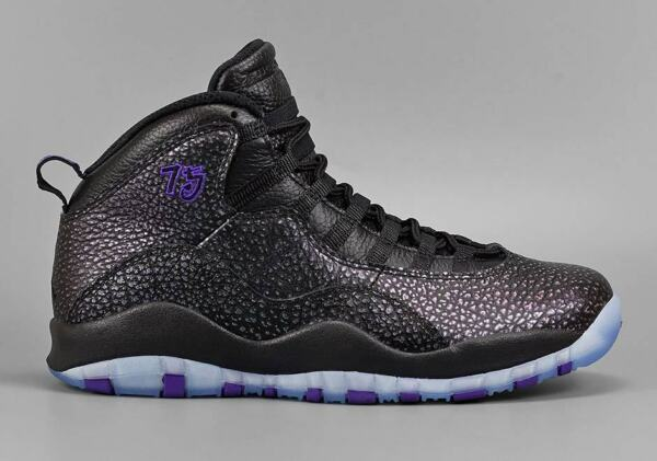Air Jordan 10 X Retro Black Purple Paris Europe Exclusive 310805-018 bred cement