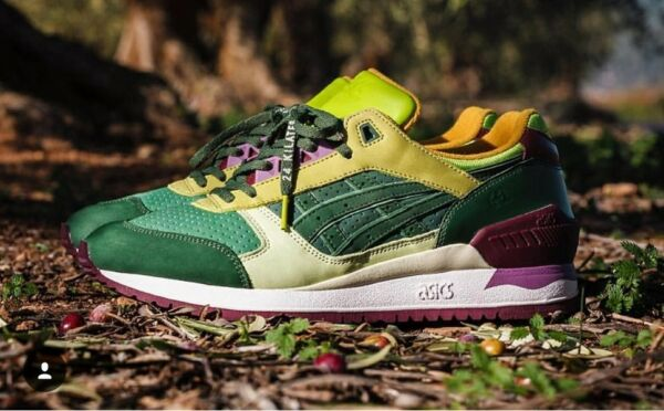 Asics x 24 Kilates Gel Respector 'Virgen Extra' Olive virgin H53UK-8686