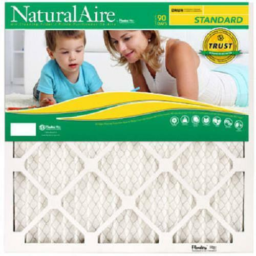 Case of 12 All Sizes Flanders NaturalAire Pleated MERV 8 ACFurnace Filters