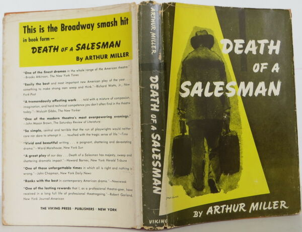 ARTHUR MILLER The Death of a Salesman SIGNED FIRST EDITION