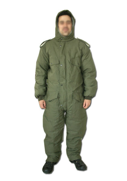 Israeli Army Extreme Cold Weather Cloth Boilersuit heavy duty Coverall Hermonit