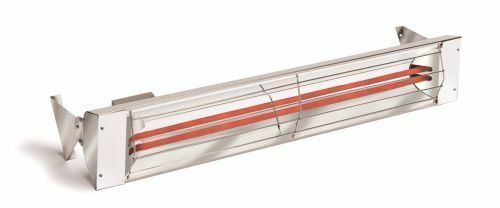 Infratech WD Series Stainless Steel 4K Watt Dual Element Heater - 39