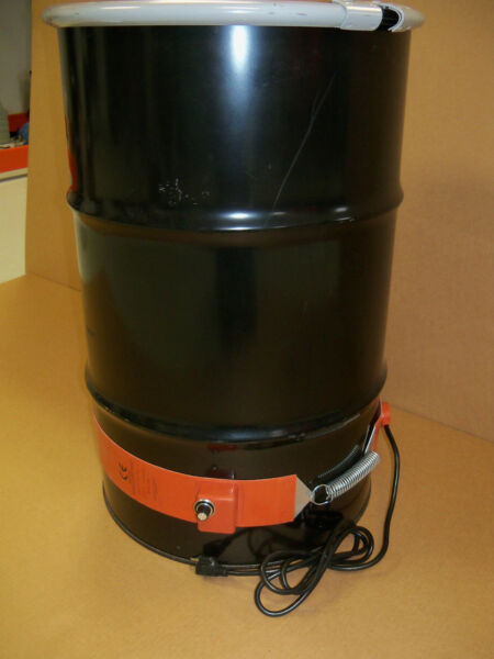 Drum Heater Metal 30 Gallon 1100 Watt- WVO  Biodiesel