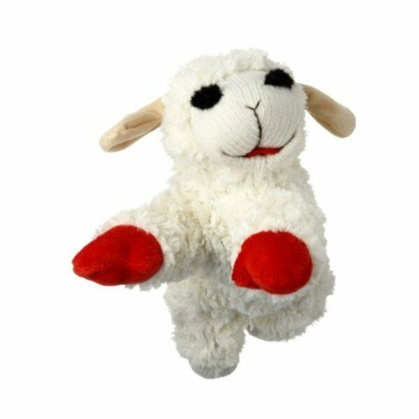Multipet Lamb Chop Dog Toy Plush & Squeak Toys for Dogs & Puppies CHOOSE SIZE $6.99