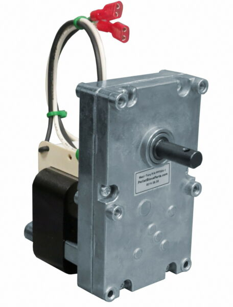 AUGER FEED MOTOR for HARMAN PELLET STOVE  [PP7004]   - 4 RPM CW   3-20-60906
