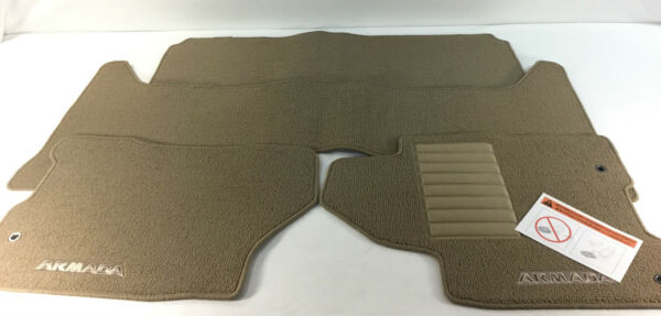 999E2 2UH13 Nissan Armada Floor Mats 4 Piece Set NEW OEM 999E22UH13 $69.99