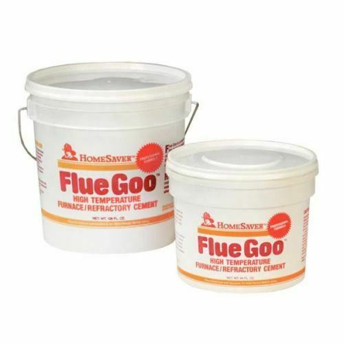 Homesaver Flue Goo FurnaceRefractory Cement Pre-Mixed 12 Gal. - Gray