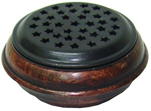 Starry Screen Incense Burner: 3quot; for Charcoal Tablets Cone Sage amp; Resin Incense
