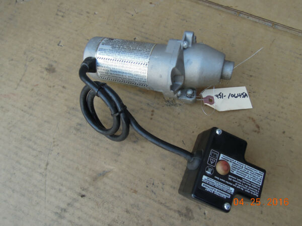 MTD SNOW BLOWER ELECTRIC STARTER 951-10645