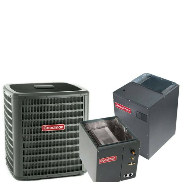 5 Ton 17 SEER R-410A Two-Stage Variable Speed Upflow Heat Pump Split System