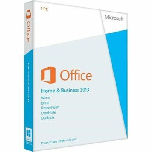 LICENZA MICROSOFT OFFICE 2013 HOME AND BUSINESS 32/64 BIT ORIGINALE ESD