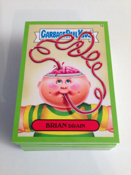 2015 Garbage Pail Kids Series 1 Green Cards - 35ab-65ab - Pick Your Own!