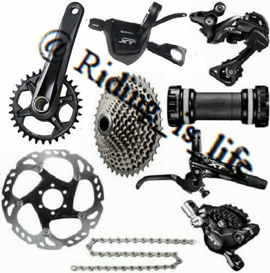 New SHIMANO XT M8000 1x11 Speed Complete MTB Groupset 11-40T42T46T170MM175MM