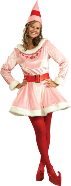 Jovi Elf Complete Outfit Deluxe Adult Womens Fancy Dress Costume Rubies