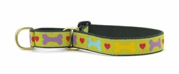 Heart amp; Bone Martingale Dog Collar Small 5 8quot; Up Country $22.00