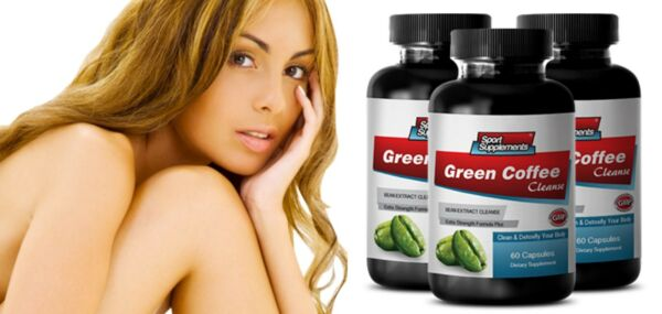 Fat Burner Pills - Green Coffee Bean Extract 400mg - Green Slimming Coffee 3B
