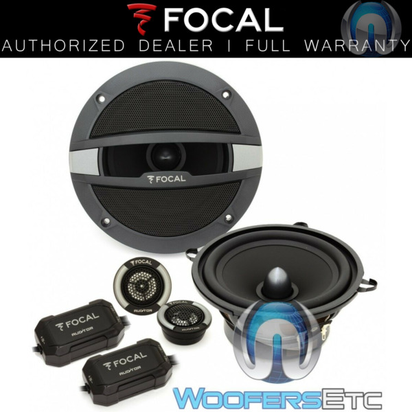 FOCAL AUDITOR R 130S2 5.25quot; CAR COMPONENT SPEAKERS CROSSOVERS MIDS TWEETERS NEW $149.99