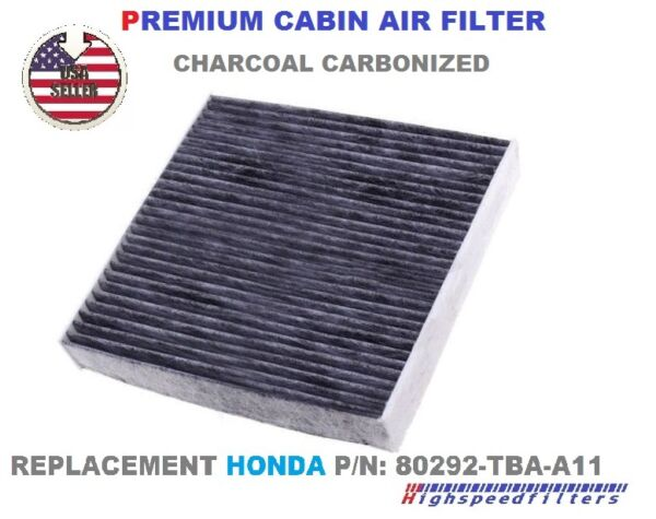 CHARCOAL CARBON CABIN AIR FILTER For 2016 2017 2018 HONDA CIVIC 1.5L