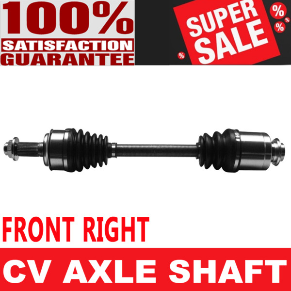 FRONT RIGHT CV Axle Assembly For HONDA ACCORD L4 2.4L Automatic Transmission