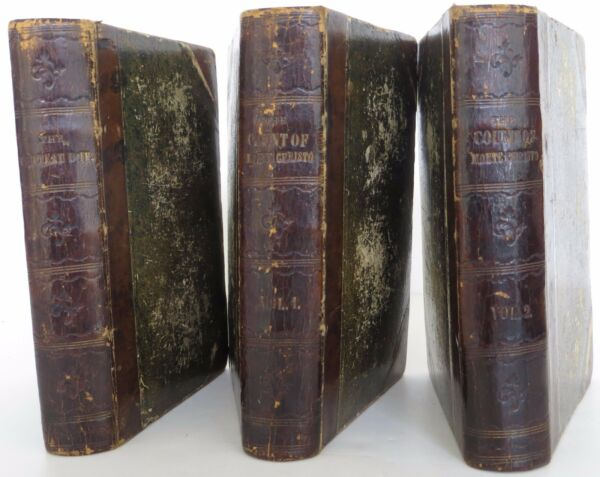 ALEXANDER DUMAS The Count of Monte Christo; Chateau D'If FIRST EDITION SET
