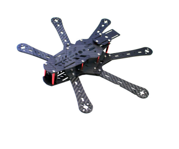Super RD350 Mini 350mm Hexacopter 6 Axles FPV Racer Carbon Fiber kit MINI350