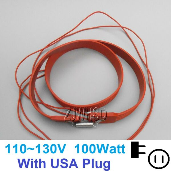 110V 100W Brew Heating Heater Brewing Belt Pad Wine Beer Fermentation Pails USA